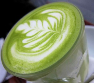 matcha latte 2